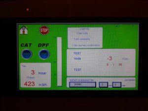 regenerácia DPF / Fap filtra